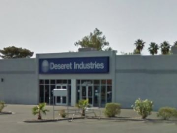 LDS Deseret Industries Paint and Concrete