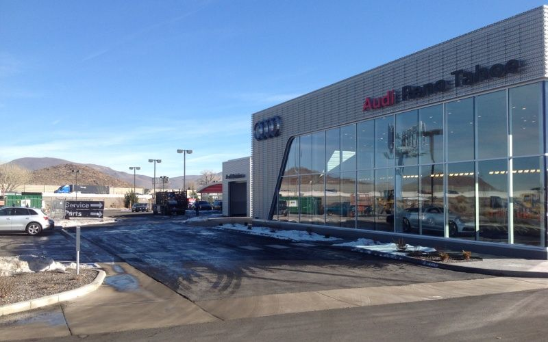 Findlay Audi Tahoe Showroom Expansion
