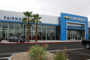 Fairway Chevrolet Showroom and Collision Center (Phase 3 of 3)
