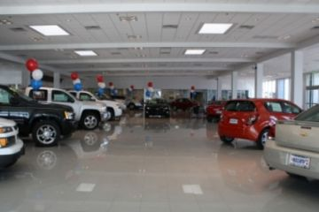 Ed Bozarth Chevrolet Showroom Addition