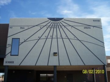 Las Vegas Day School Sundial